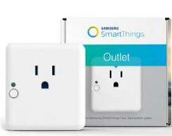 美国标准智能插座 wifa插座 三星smartthings